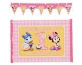 Minnie 1. Geburtstag Stuhl Dekorieren Kit