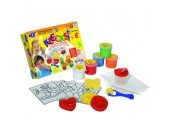 5er-Pack Klecksi Fingermalfarben
