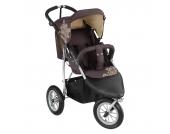 Knorr-Baby Joggy S Kinderwagen Sportwagen mit Schlummerverdeck braun