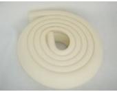 just4baby Schaumstoffstreifen zum Kantenschutz, 2m, Creme