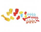 edumero Jumbo Pack Krippen Sandspielzeug, 72 teilig