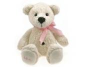 Stofftier Teddybär Bommelinchen individuell bestickt - Einseitig mit max. 10 Zeichen - von STEINER - Kuscheltier handgefertigt in Deutschland