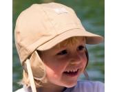 Pickapooh - Baby-Sonnenhut Hans beige mit UV Schutz, kbA