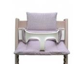 Blausberg Baby - Sitzkissen *41 FARBEN* Kissen Polster Set für Stokke Tripp Trapp Hochstuhl (Regent Rosa) alle Materialien OEKO-TEX ® Standard 100 zertifiziert - 100% made in Hamburg