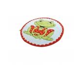Kinderteppich Garden, Frosch, 130 cm rund