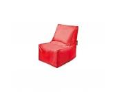 Sitzsack Block, Oxford, rot