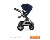 STOKKE® Gestell und Sitz Trailz™ Deep Blue