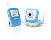 Duronic B101 B Drahtloses Babyphone-Set mit Video- und Überwachungskamera und integrierte Nachtsicht - 250m Reichweite - Blau