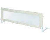 roba Bettschutzgitter Klipp-Klapp, klappbares Bettgitter für Babys & Kinder, Rausfallschutz 135 cm, beige