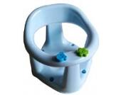 Baby Badesitz blau rosa hellblau, Badewannensitz, 6-15 Monate bis 13 Kg (hellblau)
