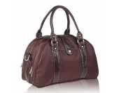 LÄSSIG Wickeltasche Shoulder Bag Glam choco - braun