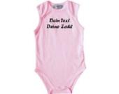 ShirtInStyle Babybody mit deinem Wunschdruck veredelt, Farbe rosa, Größe 50-56