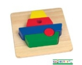 Guidecraft Primary Puzzles (Boat) by Guidecraft