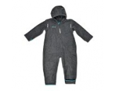 HOPPEDIZ Fleece-Overall 56-62 anthrazit