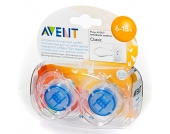 Philips Avent Schnuller SCF170/22 Freeflow blau / grün 6 - 18 Monate