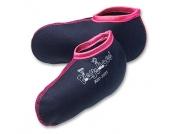 Playshoes Girls Stiefelsocke marine / pink - Mädchen