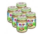 HiPP Bio Rindfleisch fein püriert 6 x 125 g