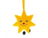 Sterntaler Spieluhr Stern gelb