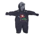 Baby Schneeanzug mit Kapuze, Autos, Beep Beep (Säugling) (Himmelblau)