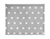 Laufgittereinlage, Little Star, grau, 75 x 95 cm