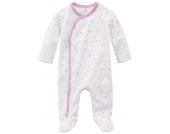 bellybutton Schlafstrampler mit rosa Sternen