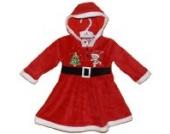 Weihnachten Kleid für ein Baby 'Miss Claus' (12-18 Monate)