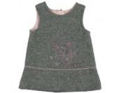 Boboli Girls Kleid ohne Arm grey melange - grau - Gr.Kindermode (2 - 6 Jahre) - Mädchen