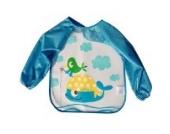 Hengsong Cute Baby Kinder Bunte Wasserdicht Ärmellätzchen (Blau)