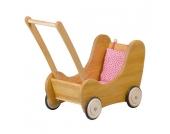 Verneuer Puppenwagen mit Bremse & Kissen