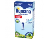 Humana Anfangsmilch 1 LCP+GOS flüssig 450 ml - Gr.ab 0 Monate