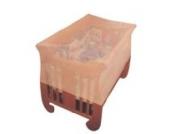 Bieco 04-008006 - Moskitonetz fürs Babybett, ca. 130 x 65 x 90 cm, Mückenschutz, Mückennetz
