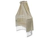 Nestbauglück BettSet für Beistellbett, Sterne beige