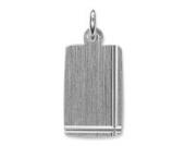 Schmuck-Pur Echt Silber Gravurplatte-Anhänger inkl. Gravur