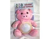 Baby Nachtlicht Schlaflicht mit Plüschtier Schwein Glücksschwein