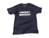 Cheeky Monkey Baby – Marineblau (Navy Blue) Tee Shirt, 18 – 24 Monate