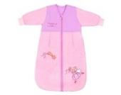 Schlummersack Baby Winter Schlafsack Langarm 3.5 Tog 56cm/Neugeborene - Pink Fairy