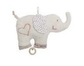 Efie Spieluhr Elefant, Material aus kontrolliert biologischem Anbau, 100% Made in Germany seit über 60 Jahren