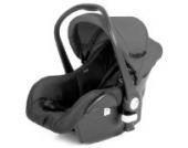 Froggy® Babyschale COCOON Autokindersitz Autositz Babytrage Gruppe 0, 0+ (bis 13 kg) Sicherheitsnorm ECE R44/04 geprüft & zugelassen Anthrazit