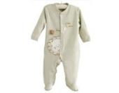 Natures Purest Baby Einteiler Schlafanzug Löwe öko Baumwolle Gr. 68
