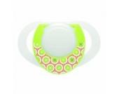 Chicco 00005726000000 Dekor-Beruhigungssauger Physio mit Ring, leuchtend, 0 m+, Silikon 1 Stück