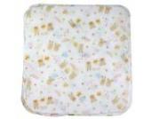 BONAMART ® Waschlappen Babywaschlappen Musselin Baumwolle 5 Stk Neu 31x31cm