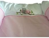 Wickelauflage Deluxe rosa 75x85cm, aber passend für Trend-Welt Wickeltischaufsatz 60x70cm