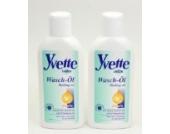 Yvette Intim Waschöl - 2 x 150 ml - zur milden Reinigung des Intimbereichs - desodorierend