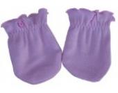 Kratzfäustel Fäustlinge Kratzschutz mit Kratzfäustlingen Handschuhe für Neugeborene Rosa