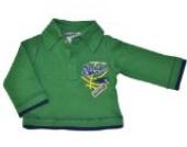 Jacky Jungen Polo Shirt, Basketball, Dunkelgrün, 74, 132248