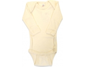 Engel Baby-Body Langarm Wolle